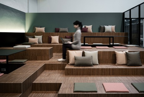 Japanese atmospheres of interior design and art in Milan