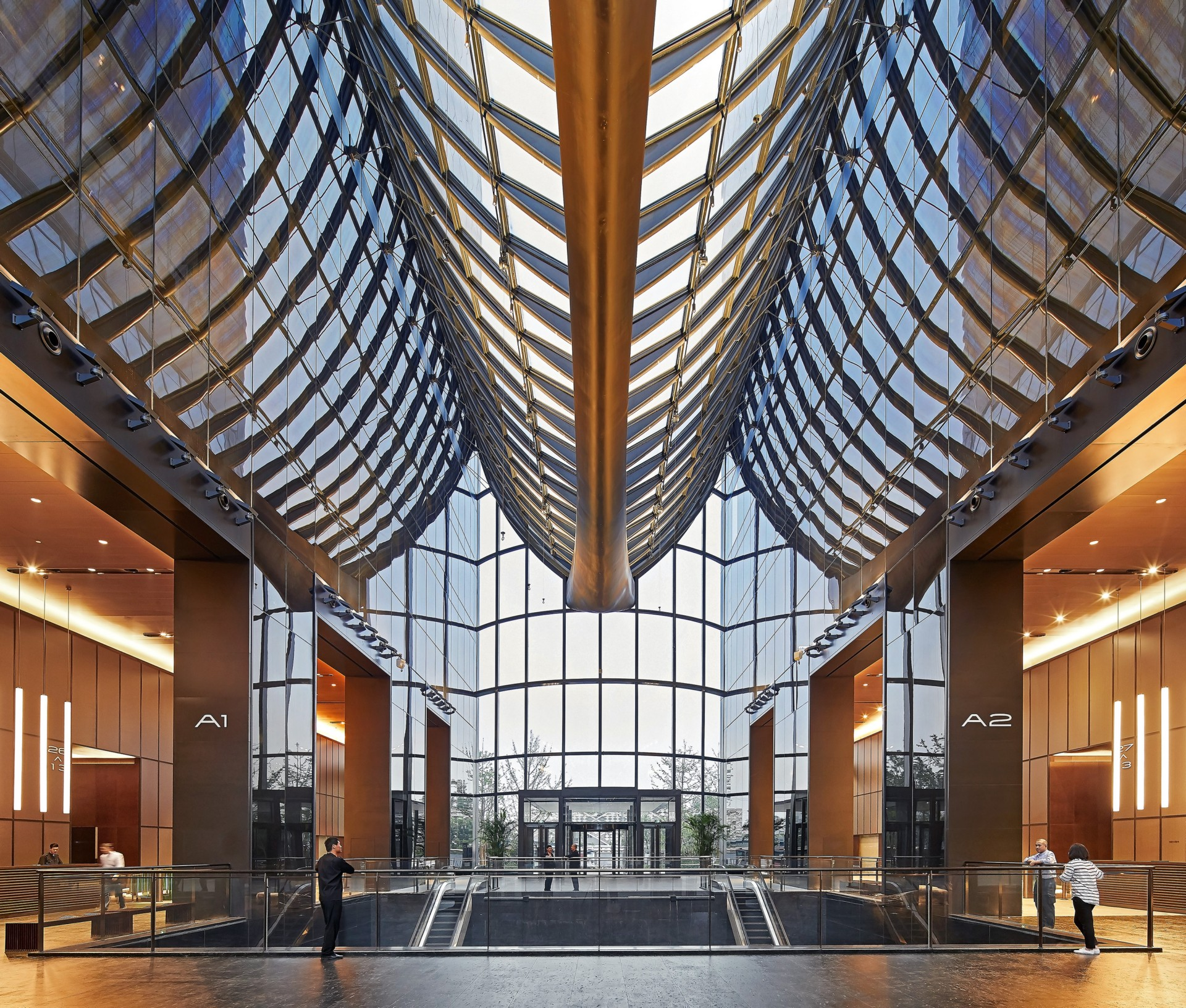 MAD Architects - Chaoyang Park Plaza, Beijing