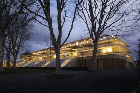 Dominique Perrault Architecte new Paris Longchamp hippodrome