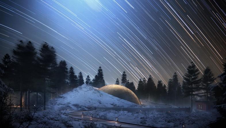 Snøhetta Solobservatoriet Planetarium and Visitor Centre, Norway