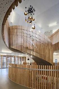 Atelier d'architecture Vincent Parreira Casarès-Doisneau Intermunicipal School Campus in Saint Denis