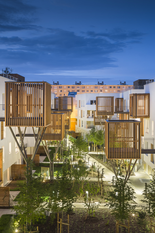 Brenac & Gonzalez Romainville housing development