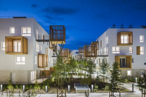 Brenac & Gonzalez Romainville housing development