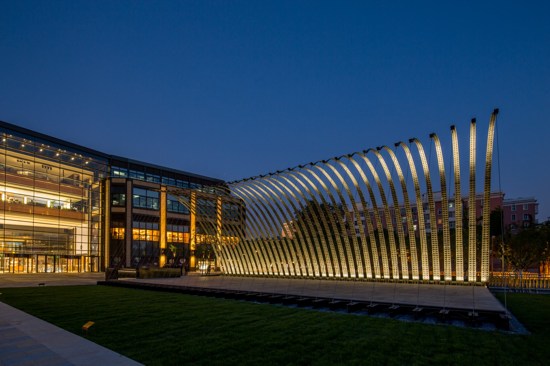 Jiakun Architects first Serpentine Pavilion Beijing