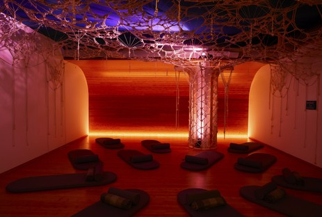 Archi-Tectonics Inscape meditation spaces in New York