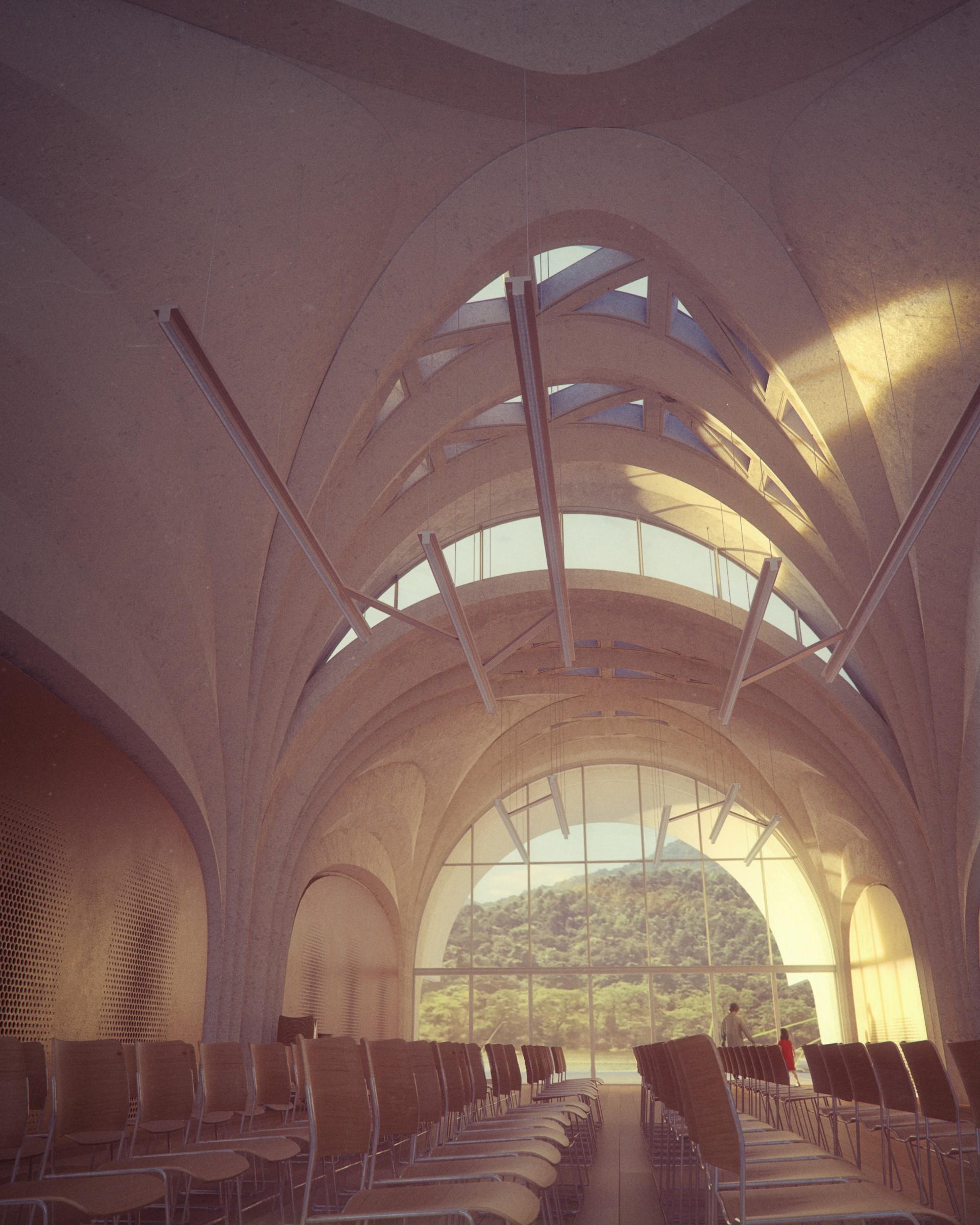 Zaha Hadid Architects Lushan Primary School, from China to Milan