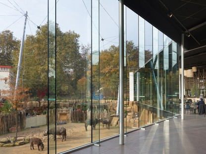 Studio Farris Architects: New spaces for Antwerp zoo