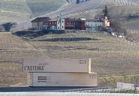 Architect Gianni Arnaudo L'Astemia Pentita Winery, Barolo
