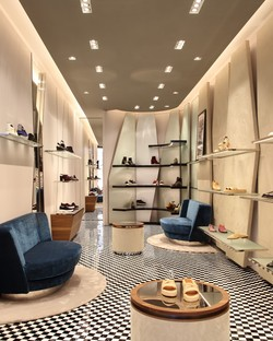Vudafieri-Saverino Partners Clergerie Boutiques in Paris and New York