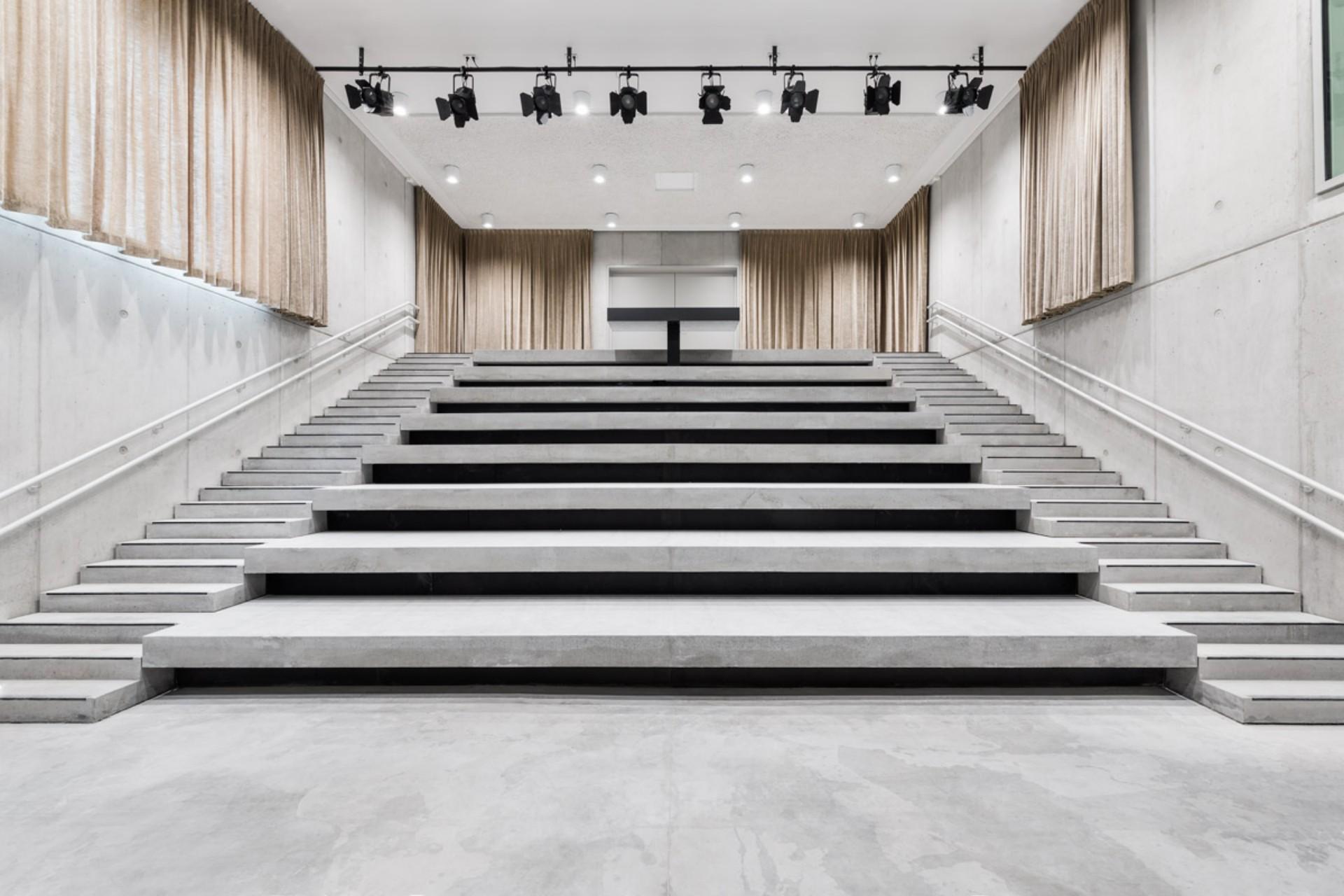 Le KAAN Architecten Utopia Library and Academy of Performing Arts in Aalst, Belgium
