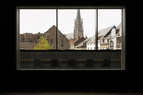 Le KAAN Architecten Utopia Library and Academy of Performing Arts in Aalst, Belgium