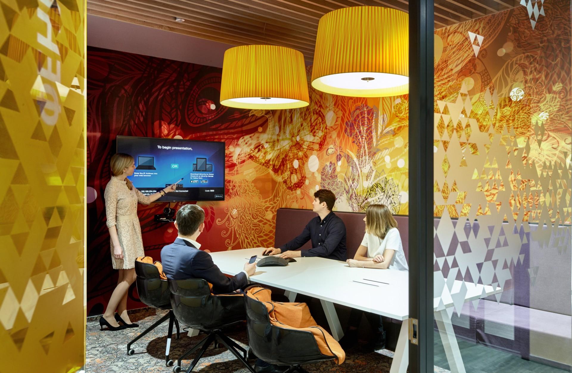 Evolution Design creates headquarters like Google's for Sberbank
