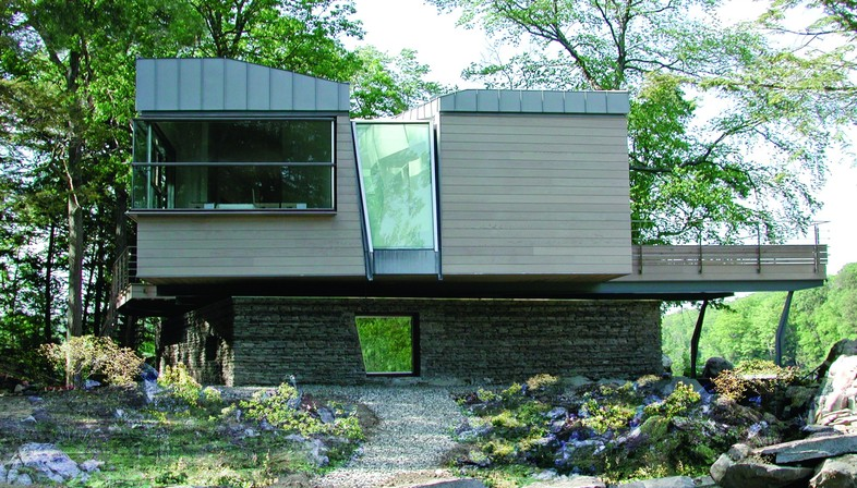 Archi-tectonics Gypsy Trail Residence  Kent, Upstate New York