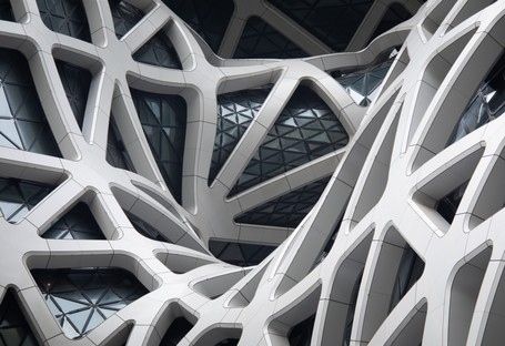 Zaha Hadid Architects Morpheus hotel at the City of Dreams Macao
