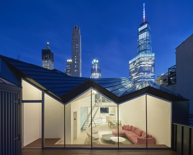 WORKac The Stealth Building living on the rooftops of New York