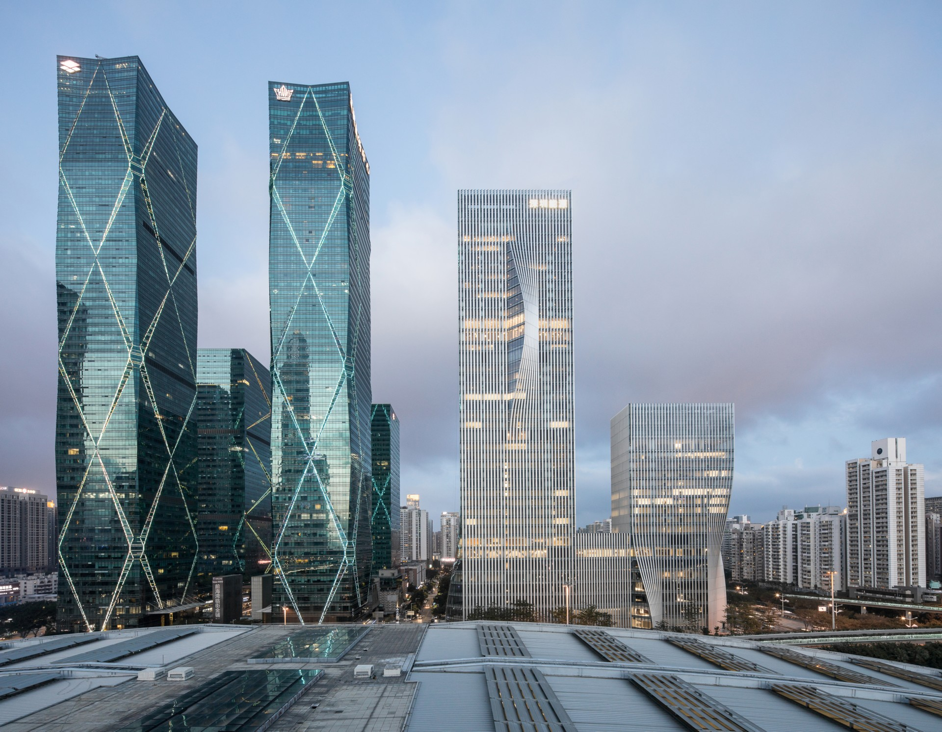 BIG completes the new Shenzhen Energy Mansion skyscraper