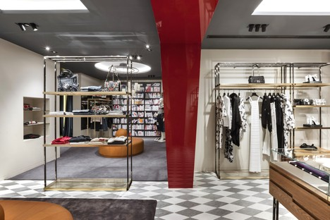 Vudafieri-Saverino Partners, architecture and fashion boutiques in Madrid and Brussels