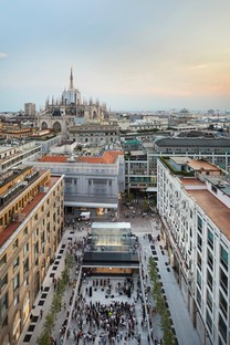 Foster + Partners, Apple Piazza Liberty, Milan