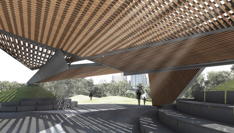 Fifth edition of MPavilion by Naomi Milgrom Foundation, Melbourne