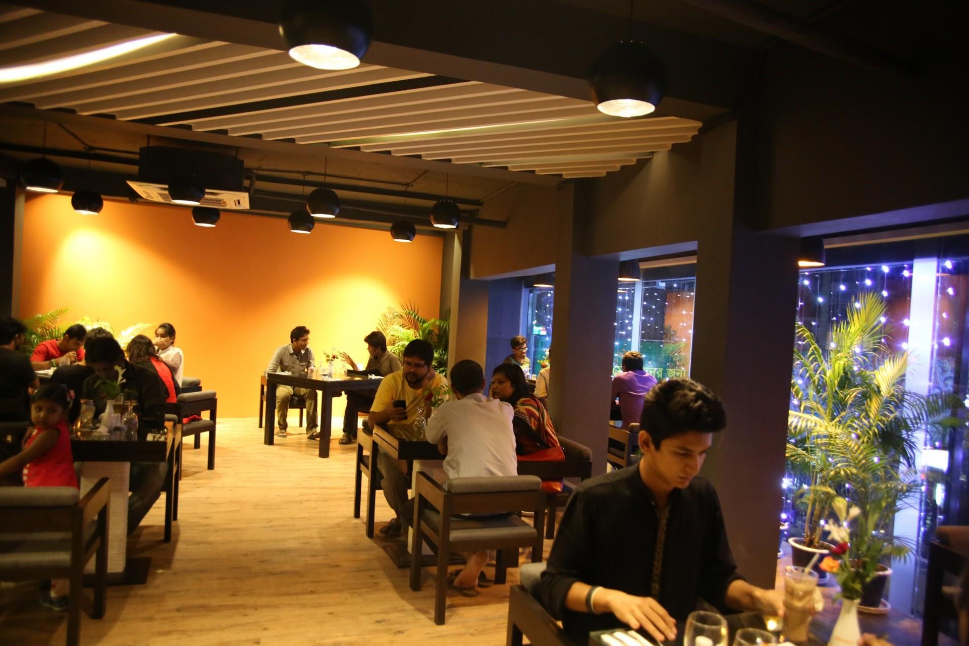 Shahriar Alam Flavour's café Rajshahi, Bangladesh