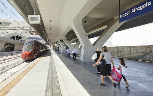 Zaha Hadid Architects Napoli-Afragola High Speed Train Station