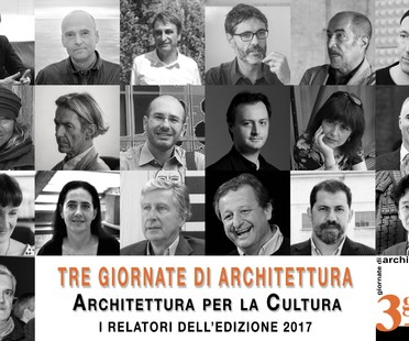 Architecture for Culture: Three days of architecture in Pistoia