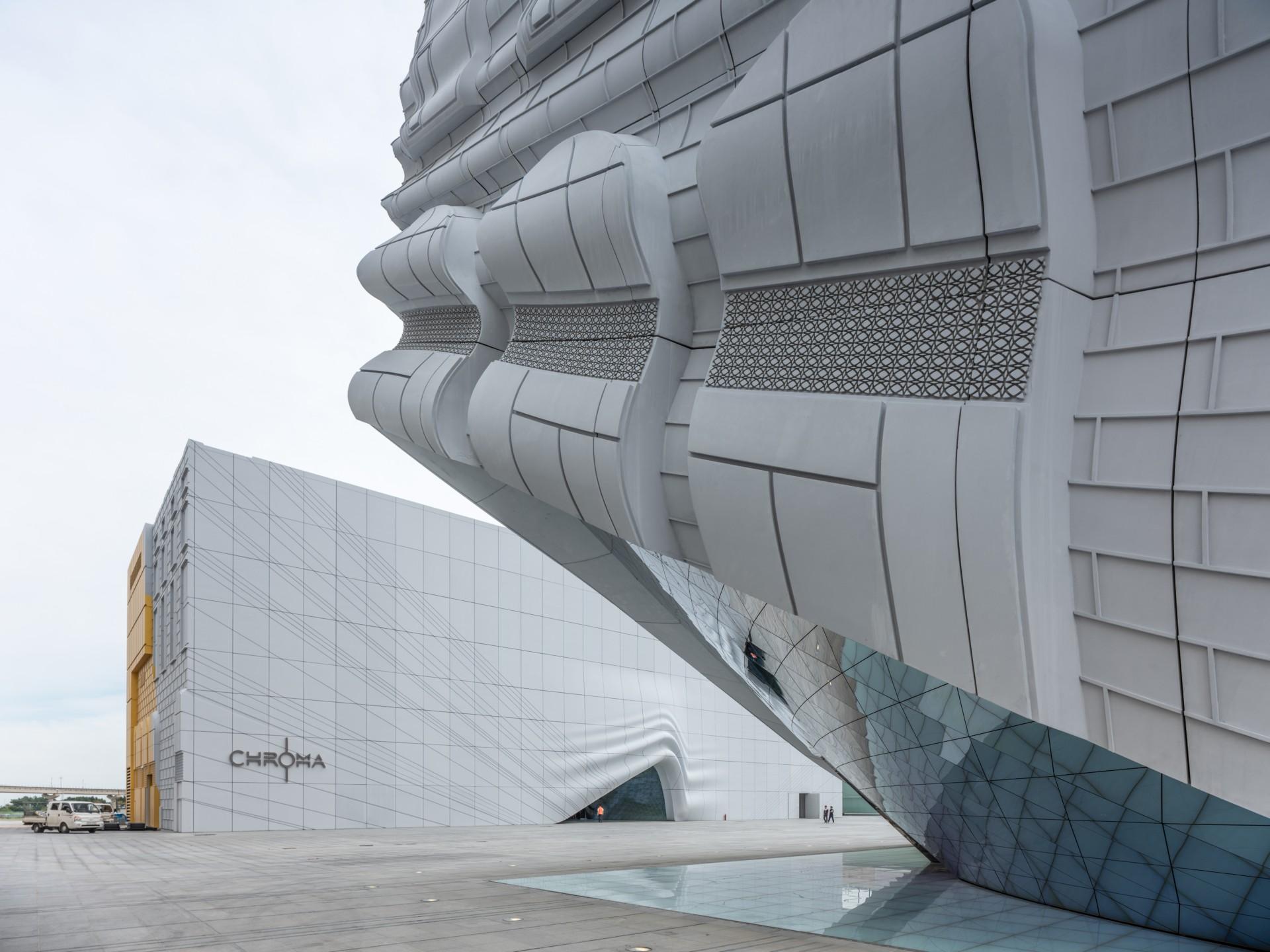 Fiber Concrete Facade