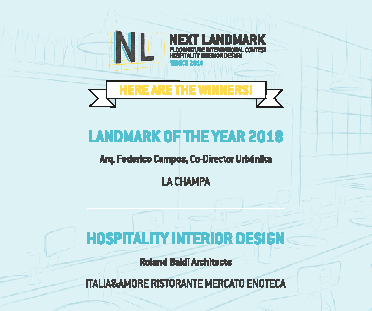 The winners of Next Landmark 2018