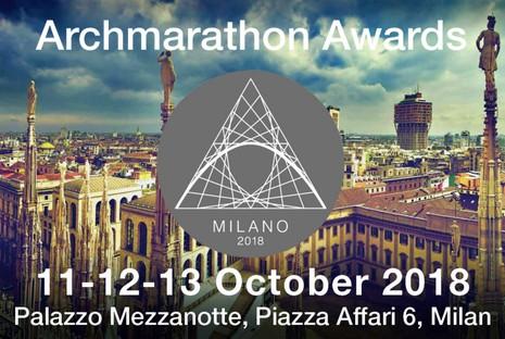 2018 ARCHMARATHON Awards in Milan