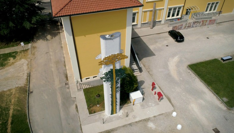 Fiandre and Zanutta SpA for the Friuli School of Mosaic