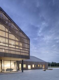 C.F. Møller Architects The Heart in Ikast, Denmark