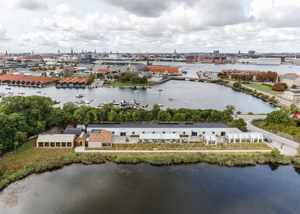 BIG Bjarke Ingels Group designs a restaurant village