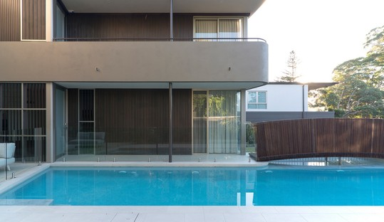 Residential architecture and water Luigi Rosselli Architects Bridge Building