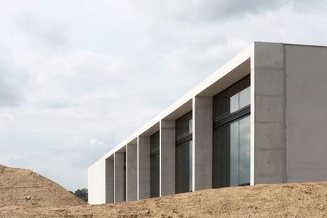KAAN Architecten Siesegem Crematorium in Aalst, Belgium