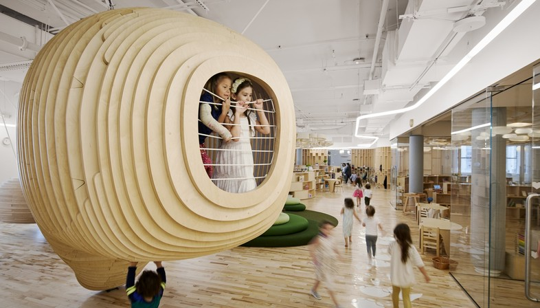 Architecture for childhood: BIG designs the first WeGrow school