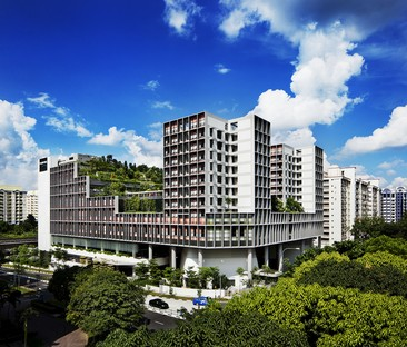 World Building of the Year Award 2018 goes to WOHA's Kampung Admiralty building