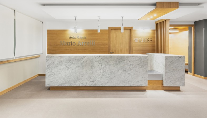 Studio Gemma and Alvisi Kirimoto design a new interior for the LUISS Aula Magna