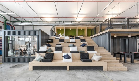 DEGW of the Lombardini22 Group designs the Electrolux Innovation Factory