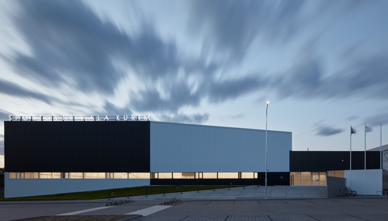 Cuboid Architekti City Sports Hall in Kuřim, Czech Republic