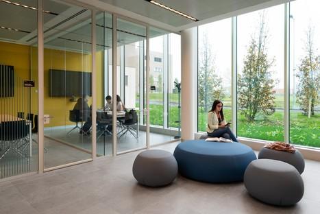 studio FTA Filippo Taidelli student residences at the Humanitas University Campus in Milan