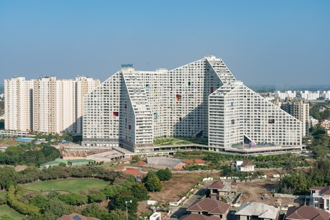 MVRDV Future Towers - Amanora Park Town Pune India