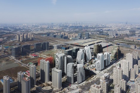MAD Architects' Nanjing Zendai Himalayas Centre nears completion