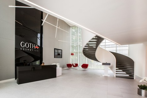 iarchitects designs the iconic new headquarters of Gotha Cosmetics