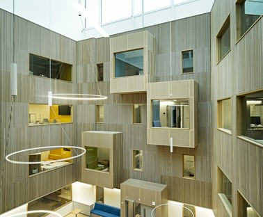 C.F. Møller Architects expansion of Norway's Haraldsplass Hospital