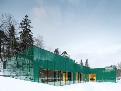 Wingårdh Arkitektkontor expansion of Sundbyberg Cemetery Pavilion
