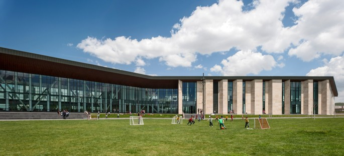 FXCollaborative: expansion and cafeteria at Bilkent Erzurum Laboratory School in Turkey