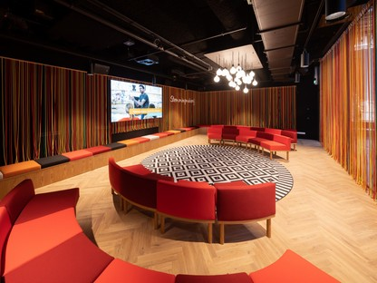 Mecanoo interior design of LocHal Library in Tilburg
