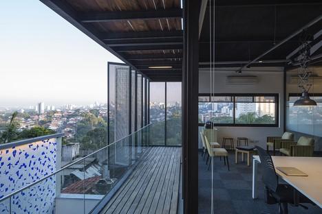 Reinach Mendonça Arquitetos and SuperLimão Studio for the Girassol Building, San Paolo, Brazil