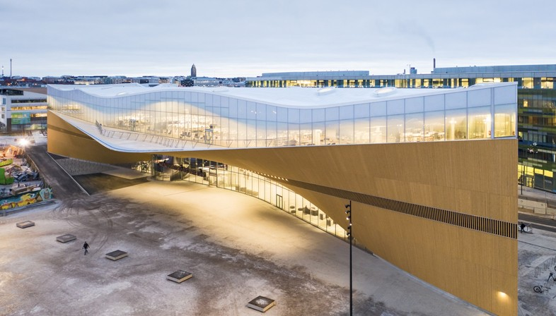 ALA Architects Helsinki Oodi Central Library and architecture for culture in Finland