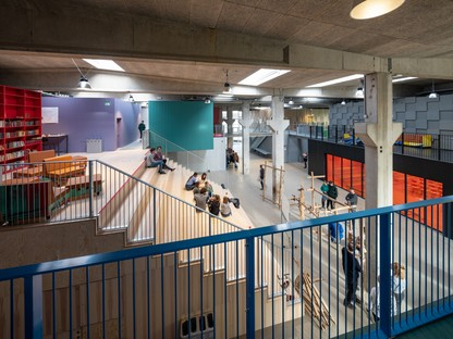 MVRDV and COBE Roskilde Festival Folk High School, Denmark